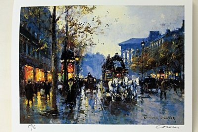 "Limited Edition "" Boulevard de la Madeleine II"" by"