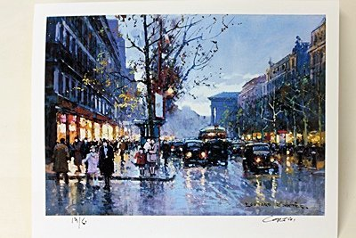 "Limited Edition "" Boulevard de la Madeleine III"" by"