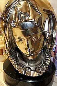 Silver Michelangelo's Madonna Della Pietà