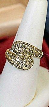 Lady's 14K Yellow Gold Diamond Ring