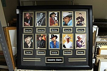 Male Country Stars Giclee AR5625