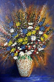 Daisy Bouquet- by William Verdult