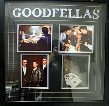 Framed Goodfellas Collectible  (50CO)