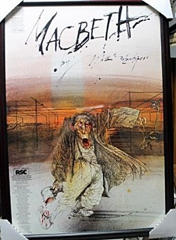 Framed Ralph Steadman-Macbeth (14EO)