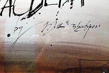 Framed Ralph Steadman-Macbeth (14EO) - 2