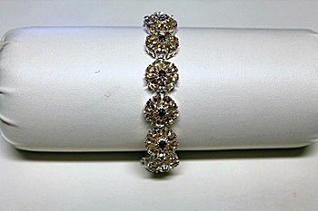 Beautiful Sapphire Garnet Bracelet