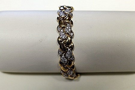 Lady's Fancy Diamond Bracelet