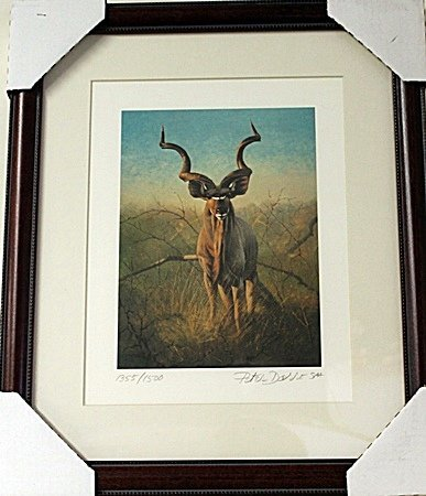 Framed  Peter Darro Limited Edition Lithograph