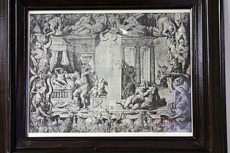 Framed Engraving
