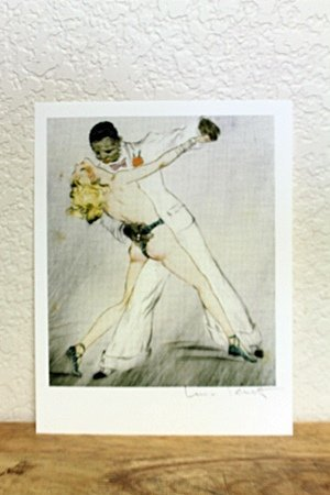 """Lithograph From """"La Nuit Et Le Moment"""" From Artist"""