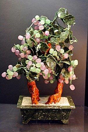 "Siberian Jade ""Mixed Grapes Tree"""