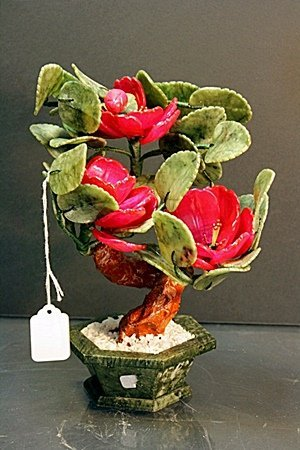 """Siberian Jade """"Bonsai Flower Tree"""""""