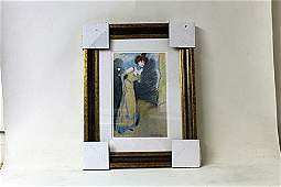 Framed Picasso Lithograph