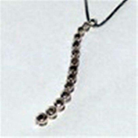 Diamond Sterling Silver Journey Necklace