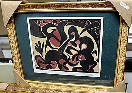 Beautiful Original signed by Picasso AR5317