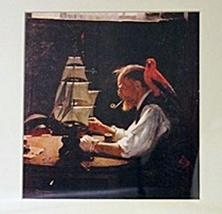 Framed 2-in-1 Norman Rockwell Lithographs - 2