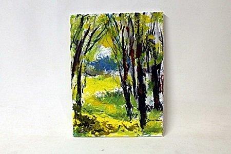 Gold Edition Original Oil on Canvas (Medium)