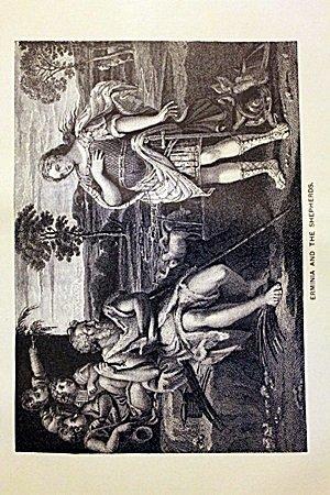 Erminia and the Shepherds by Domenichino
