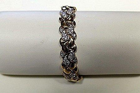Lady's Fancy Diamond Bracelet