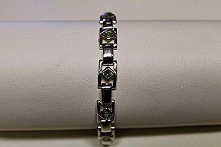 Beautiful Peridot Bracelet