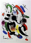 Original By Joan Miro  Lithograph-unknown