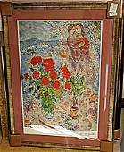 BY CHAGALL ORIGINAL LITHIOGRAPH SIGNED AR5084