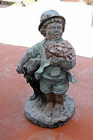 Large Bronze Sculpture- Tiny By Moreau