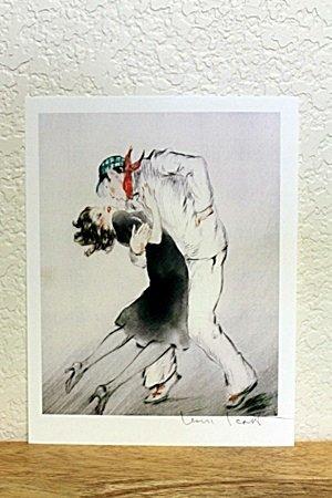 "Lithograph From "" Le Livre d'Artiste"" By Louis Icart"