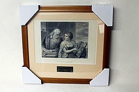 """Philosophy And Christian Art"" By Artist G. Huntington."