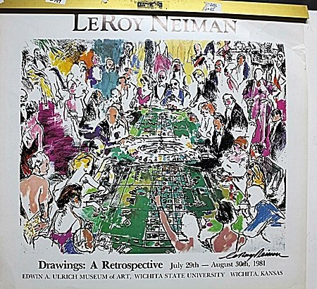 Drawings: A Retrospective Double Signed By LeRoy Neiman
