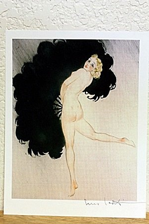 """Lithograph From """"Chrysis"""" By Louis Icart"""