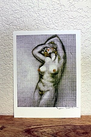 """Lithograph From """" L'ingenue Libertine"""" By Louis Icart"""