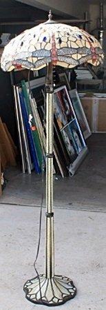 Beige Tiffany Lamp (N-15DZ-16DZ)
