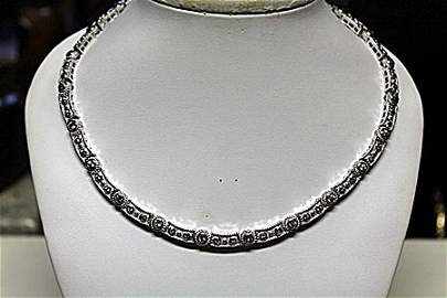 Fancy Design Golden Peridot Necklace