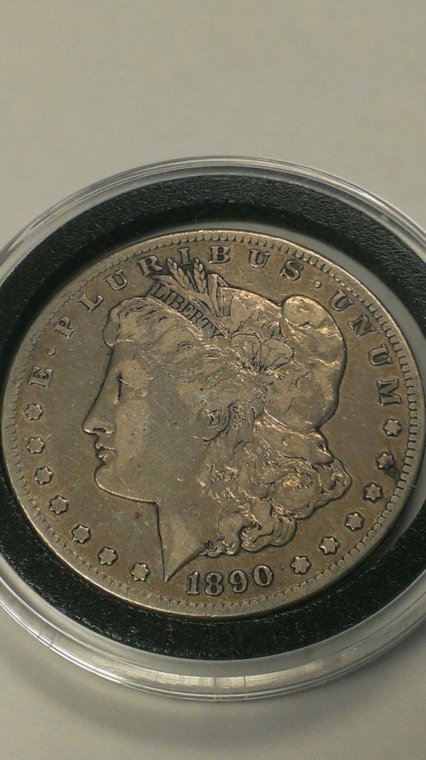 1890-CC  Carson City Morgan Silver Dollar