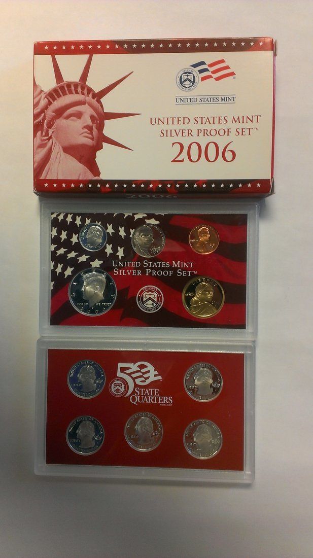 2006-S United States Mint Silver Proof Set