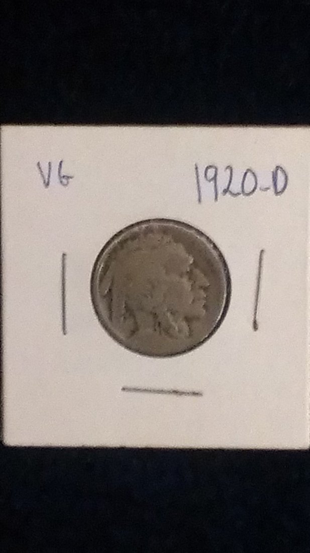 1920-D Buffalo Nickel VG
