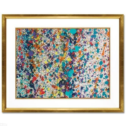 """Wyland """"Abstract 57"""" Framed ORIGINAL Watercolor"""