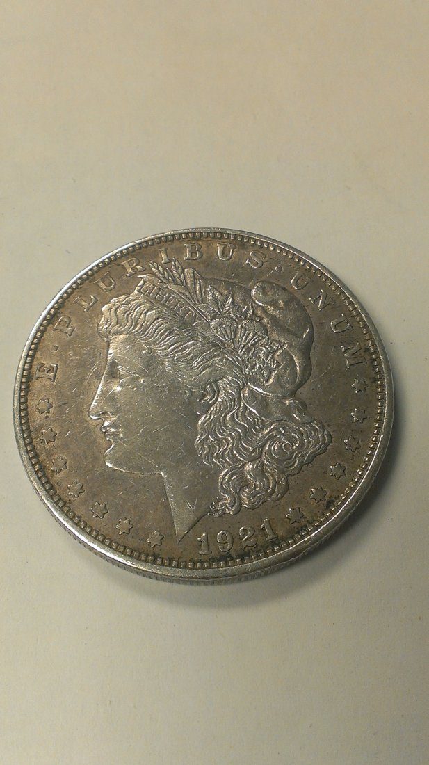 1921-D Morgan Silver Dollar  Great Detail