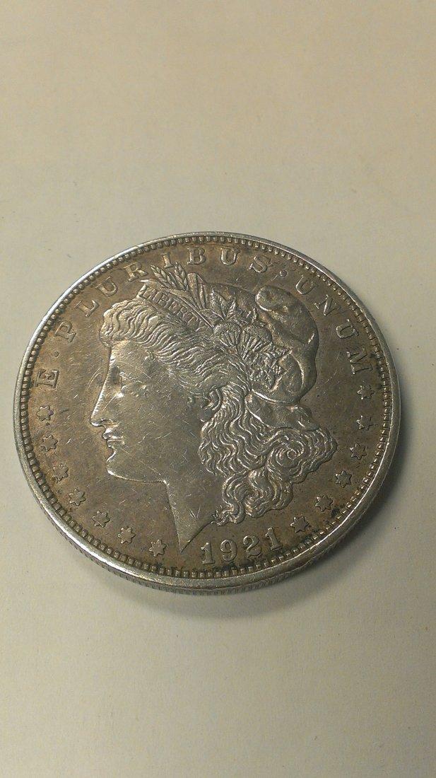 1921-D Morgan Silver Dollar  Great Detail