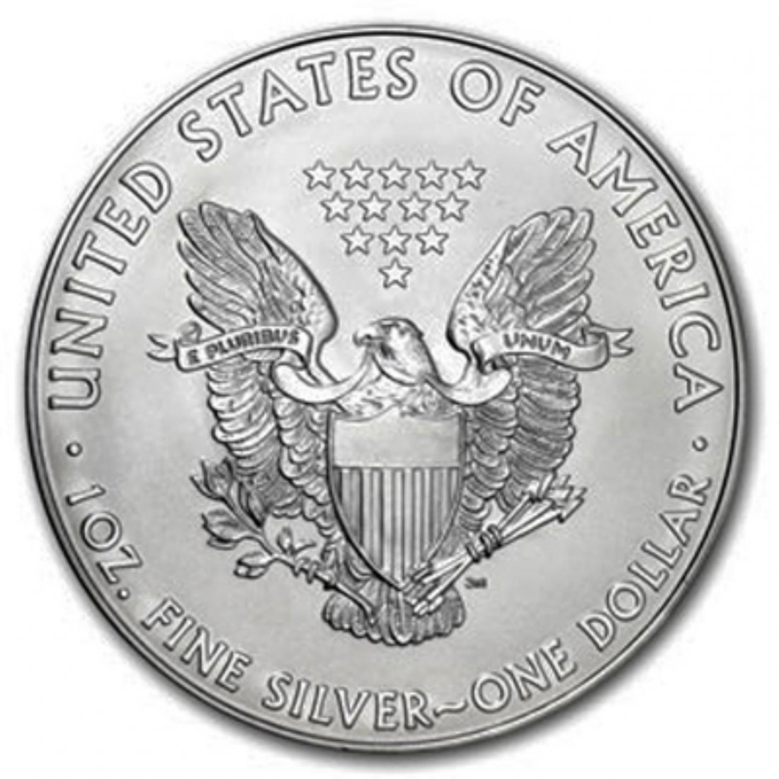 2013 Silver American Eagel Brilliant Uncirculated - 2