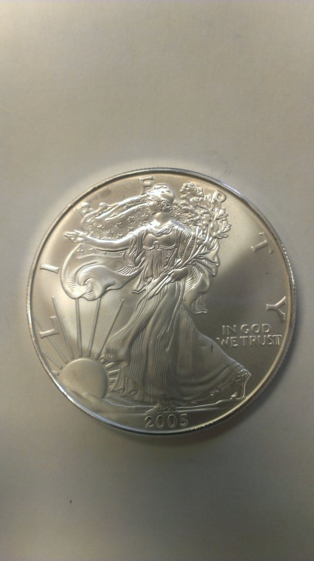 2005 1 oz Silver American Eagle (Brilliant Uncirculated