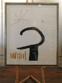 Joan Miro - D879 Untitled from the Espiru Suit