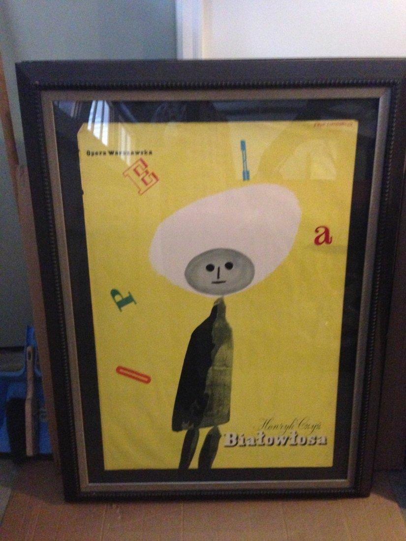 Eryk Lipinski -  Vintage Warsaw Opera Poster