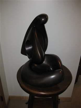 Victor Halvani - Mother and Child Bronze Sculpture