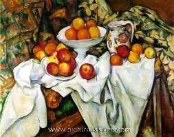 """Apples and Oranges"" Paul Cezanne Print"