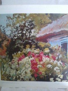 """""""Flowers""""  Stanislaw Kamocki Print"""