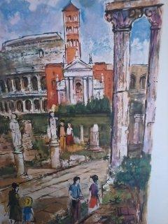 """ROMA""  A. Bernardon Print"