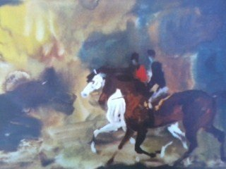 """""""The Outrider"""" Abstract Print"""