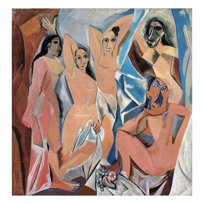 """""""Les Demoiselles"""" Pablo Picasso"""